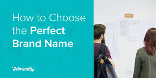 Choosing a <b>brand name</b> for your business: A 5-step guide