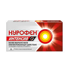 <b>Нурофен Интенсив</b> таблетки обезболивающие <b>200 мг</b>+500 мг, 6 ...