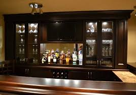 home bar lighting. storage lighting in custom home bar