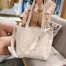 Canvas <b>Women</b> Shoulder Bag Print <b>Casual Tote Bag</b> Big Shopping ...