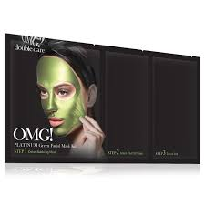 Double Dare OMG! Platinum Green Facial Mask Kit <b>Маска</b> ...