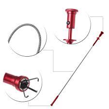 Flexible Pick Up Tool Magnet 4 Claw <b>LED Light Magnetic</b> Long ...