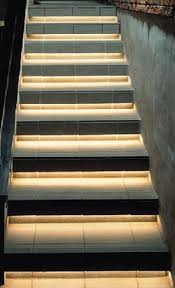 led stair lights inspired staircase led lighting with led strips automatic led stair lighting