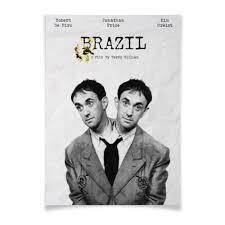 Плакат A2(42x59) <b>Бразилия</b> / Brazil #2551658 от kino.<b>printio</b>.ru