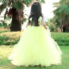 Online Shop Belle Princess Tutu Dress <b>Flower Fairy Girl</b> Party Ball ...