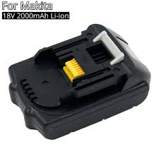 Rechargeable Battery 18V 2A Li ion <b>Replacement Batteries for</b> ...