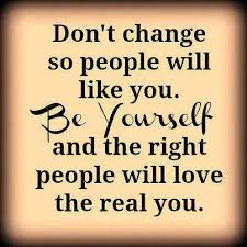 Be yourself Quotes : People Will Love you | Mr. Reklamador ...