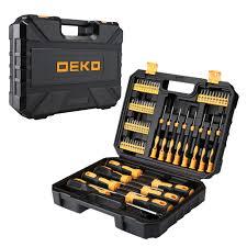 <b>Набор</b> профессиональных <b>отверток и бит</b> DEKO DKMT65 (65 ...