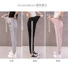1183# <b>Summer Thin Breathable</b> Maternity Casual Pants Sports ...