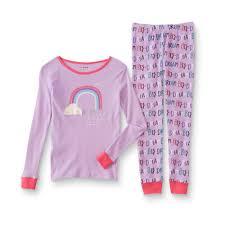 Joe Boxer Girls' Tight Fit <b>Pajama</b> Shirt & Pants - <b>Dream Big</b>