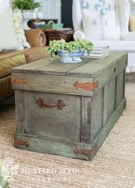 pottery barn knock off trunk coffee table follow the video tutorial to learn how to chest coffee table multifunction furniture