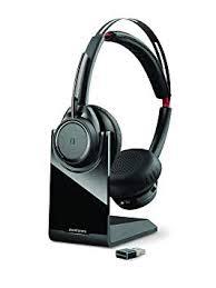 <b>Plantronics</b> Voyager Focus UC <b>Stereo Bluetooth Headset</b>: Amazon ...