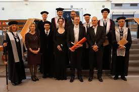 Medical Visualization PhD defenses   medvis org medvis org Dr  Kok with his paranymphs and the thesis committee members