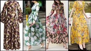 <b>long Floral</b> print maxi dresses collection for <b>women</b> upcoming trend ...