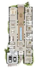Modern Narrow Block House Designs Floor Plan Four Bedrooms   mini    Modern Narrow Block House Designs Floor Plan Four Bedrooms   mini Änderungen und ich fänd es