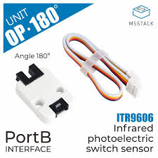 M5Stack Official <b>Mini Angle 180</b> Degree <b>Infrared</b> Refletive Unit ...