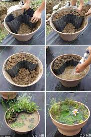 diy patio pond: build a fairy tale like pond in a pot  wonderful outdoor diy