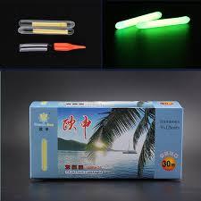 200pcs 100bags <b>Night Fishing Float</b> Light Glow Sticks Chemical ...