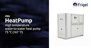 HeatPump PEH - <b>High Temperature</b> Heat <b>Pump</b> - 167 °F   Frigel ...