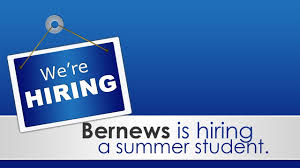 need a job bernews seeking a summer student need a job bernews seeking a summer student