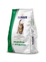 <b>Сухой</b> полнорационный <b>корм</b> для взрослых кошек индейка с ...