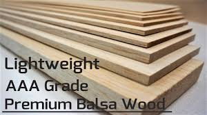 Premium <b>AAA</b> Grade <b>Balsa Sheets</b>, Sticks and dowels available ...