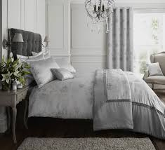 Silver Curtains For Bedroom Silver Grey Quilt Duvet Cover Bedding Bed Set Bed Linen Or