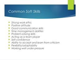 Soft skill at work place