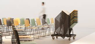 <b>Stackable chairs for</b> multifunctional spaces - Sellex