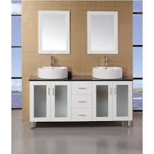 element contemporary bathroom vanity set: design element decd w malibu  inch single sink modern bathroom vanity in espresso finish
