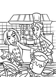 Small Picture How to Draw Kitchen Coloring Pages How to Draw Kitchen Coloring