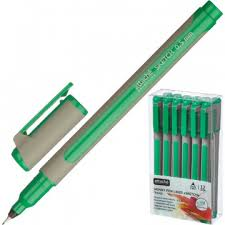 <b>Линер Attache Selection</b> корпус soft touch 0,5мм зеленый