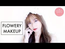 makeup ala korea flowery makeup indonesia