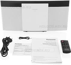 Музыкальный центр <b>Panasonic SC</b>-<b>HC 200 EE</b>-<b>W</b> купить в ...