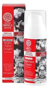 Natura Siberica White <b>Ночной крем для лица</b> — купить по ...