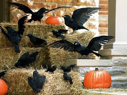 ideas outdoor halloween pinterest decorations: fall on window pinterest spooky outdoor decorations for the halloween night godfather and diy home decor ideas easy decorations exteriors images outdoor fall decorating ideas