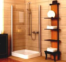 bathroom ideas corner shower design: delectable design small bathroom designs for bathrooms engaging tiles ideas plebio brown color wall panels corner