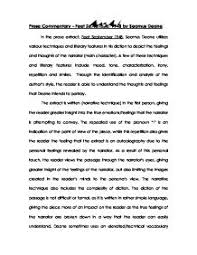 discuss how kazuo ishiguro uses narrative techniques in order to    in the prose extract  feet september   seamus deane utilizes various techniques and literary