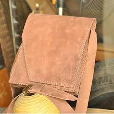 Túi da handmade