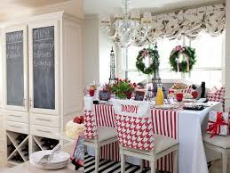 seat covers perfect frills christmas breakfast table  christmas breakfast table