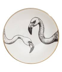 Check this out! Small porcelain plate with a printed design. Diameter ...