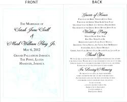 Meet The Bridal Party Wedding Program | Unique Wedding Gallery via Relatably.com