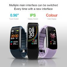 <b>Smart Wristband</b> HR Monitor Fitness Tracker <b>Smart Bracelet</b> Blood ...