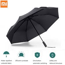 <b>Xiaomi Mijia Automatic</b> Sunny Rainy Bumbershoot Aluminum ...