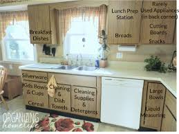 strategically organize kitchen