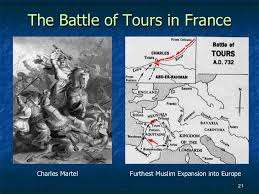 Image result for the battle of tours in 732 was significant because