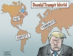Image result for Trump CARTOON