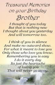 Bereavement Grave Card BROTHER Birthday my no 64 | Happy Birthday ... via Relatably.com