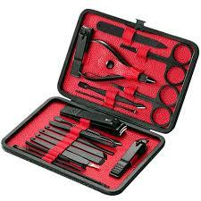 Buy <b>18Pcs</b> Manicure Set <b>Professional</b> Nail Clipper Kit Utility ...