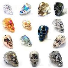 Genuine Swarovski 5750 13mm / 19mm <b>Skull</b> Beads (Pick your ...